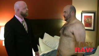 Bald Men Barebacking