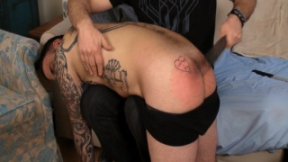 Spanked Red Ass