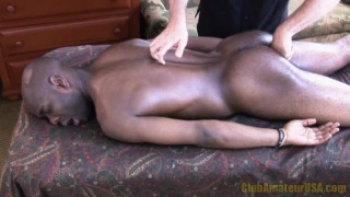 Pleasuring a Hung Black Stud