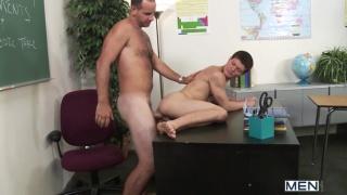 Taking the Teacher's Huge Cock