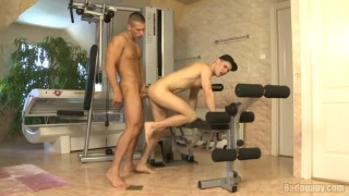 Workout Bench Fuck