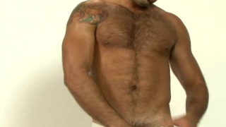 Spanish hairy hunk