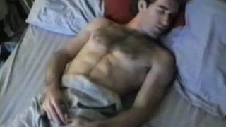 Hairy Guy Fingering Butt Hole