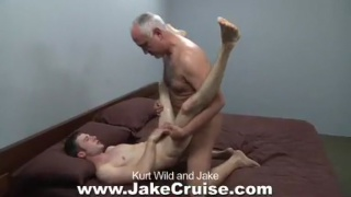Jake Cruise with a guy half his age