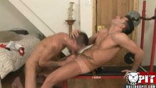 British Boy Sucks a Huge Cock