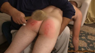 Hair Brush on Your Ass Hurts Like Hell