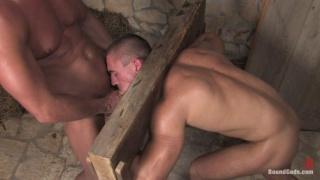 Fucked in bondage