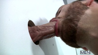 Tommy Defendi Sucks Jimmy Johnson at Glory Hole
