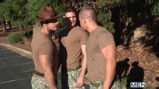Army Buddy Threeway