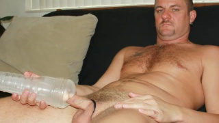 Daddy Likes His Fleshlight