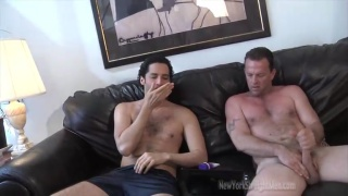 Puerto Rican and Redneck Jacking Off