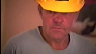 Redneck Construction Worker Jacking Off