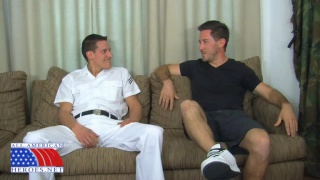 Lifeguard Seduces a Petty Officer