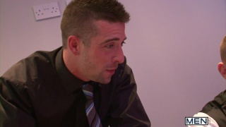 Harley Everett Fucks Scott Hunter at the Office