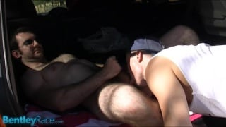 Hairy Aussie Gets Some Head