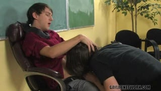 Making his Teacher's Wildest Fantasy Cum True