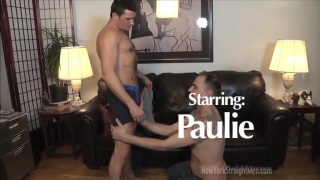 Blowing a Beefy Straight Guy