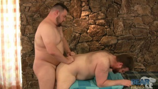 Big Bear Fucking Buddy's Ass
