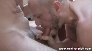 3 Amateur Guys Meet Online