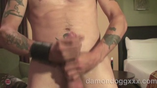 Damon Dogg Jacking his Dick