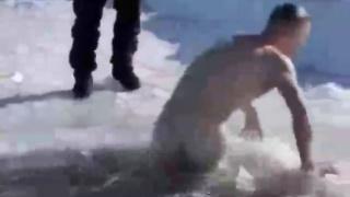 Naked Scandinavian Guys Polar Bearing
