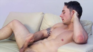 Sexy Nick Cheney Jerks Off