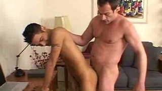 Guy fucked raw by daddy