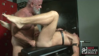 Daddy Working Bottom's Hole