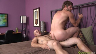 Riding a Bald Stud's Raw Cock