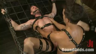 Master Fucks his Bound Slave Boy