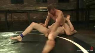 Nude Wrestlers Will Parks vs John Jammen