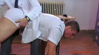 Over the Headmaster's Knee