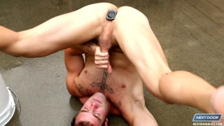 Cock Hound Christian Cayden's Dildo Jack Off