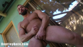 Muscle Hunk Fabio Stallone's Big Fat Cock