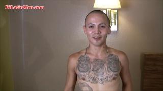 Skinny Tatted Latino Thug