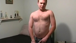 Beefy College Cub Jacks Off