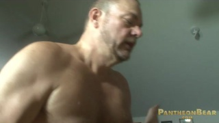 Hairy Daddy Fucks his Scruffy Boy
