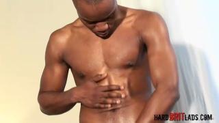 Black Footballer's 9-Inch Cock
