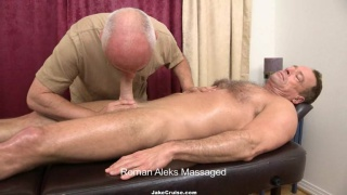 Jake Cruise Massage & Blows Hairy Hunk