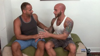 Girth Brooks Stuffs his Fat Cock Up Drake Jayden's Ass