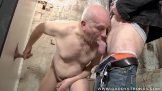 Two Grandpas at the Glory Hole