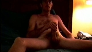 Hairy Country Man Beating Off