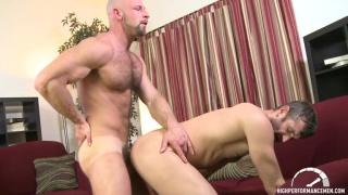 Bald Hunk Dirk Willis Pounds CJ Parker's Ass