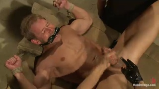 Edging Alex Adams' Stiff Cock