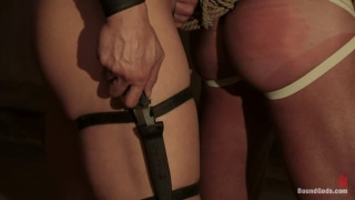 Group fucking in bondage