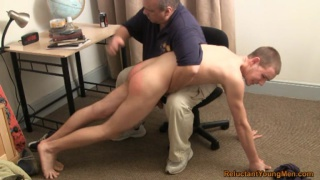 Arrogant 18-Year-Old OTK Spanking