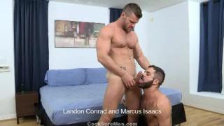 Landon Conrad Fucks Marcus Isaacs