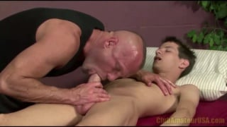 Str8 Dude Massage, Fingered and Blown