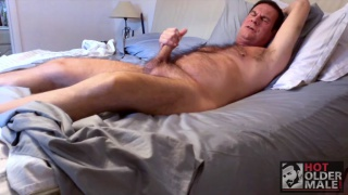 Horny Daddy Timothy Shields Jacks Off
