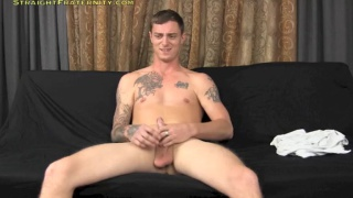 Ripped Tattooed Guy's Porn Audition